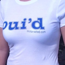 Women's OUI'D Next Level White side